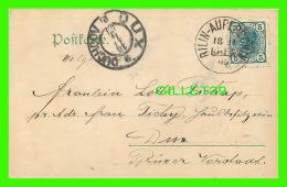 ENTIERS POSTAUX, BILIN, TCHÉQUIE - 5 HELLER   1900  - - Cartes Postales