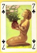 PIN UP Années 30 - 40 : 7 De Trèfle - Cartes à Jouer Classiques