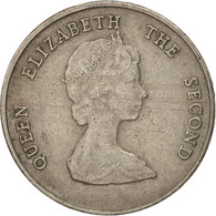 Etats Des Caraibes Orientales, Elizabeth II, 25 Cents, 1981, TTB, KM 14 - Caraïbes Orientales (Etats Des)