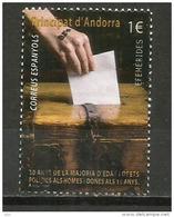 Vote à 18 Ans En 1985, Un Timbre-poste, Oblitéré,oblit.ronde., 1 ère Qualité - Gebraucht