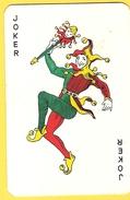Joker Dansant Avec Sceptre - Collants Verts - Verso Soudez Bien Soudez ARCOS - Cartes à Jouer Classiques
