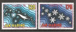 San Marino 1978 // Mi. 1170,1171 ** (024..503) - Ungebraucht