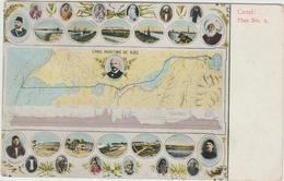 CANAL MARITIME DE SUEZ - PLAN N°2 - Suez