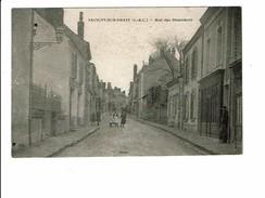 Cpa SAVIGNY SUR BRAYE Rue Des Pépinières Jeunes Filles à La Pose MB - Other Municipalities