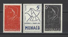 MONACO . YT 399/401 Neuf ** Centenaire De La Mort D'Antoine-Frédéric Ozanam 1954 - Unused Stamps