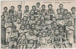 ONONGHE (PAPOUASIE NOUVELLE GUINEE) - L'ECOLE - BOYS SCHOOL - Papua Nuova Guinea