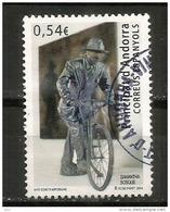 Le Vélo. Samantha Bosque. Biennale Di Venezia 2013, Un Timbre Oblitéré 1 ère Qualité - Gebraucht