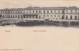 10851-PISTOIA-STAZIONE FERROVIARIA-1903-FP - Gares - Sans Trains
