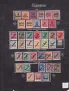 Allemagne - Collection Vendue Page Par Page - Timbres Oblitérés/neufs * (avec Charnière) - Qualité B/TB - Oblitérés
