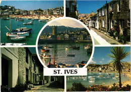 Angleterre  Saint Ives Vues Multiples Rare Beau Timbre - St.Ives