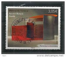 Esposizione Internazionale D'arte Di Venezia (Biennale De Venise)  2015.un Timbre Oblitéré, 1 ère Qualité - Gebraucht