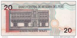PERU P. 176c 20 S 2006 UNC - Perù