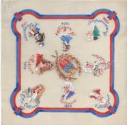 Dessin Sur Papier Calque/Gouache/Miniatures De Personnages Historiques Nés à PARIS/Avec Armoiries/Gébé/1940-44  GRAV188 - Dessins