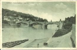 Torino (Piemonte) Ponte Umberto I Visto Da Levante - Ponti