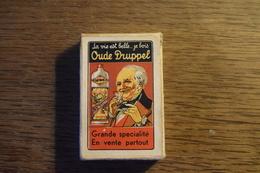 Jeu De 52 Cartes + 1 Joker : Oude Druppel (Vieux Genièvre) Liqueur, Eau-de-vie (sans Doute Distillerie à Hasselt) - Cartes à Jouer Classiques
