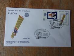 ANDORRE ESPAGNOL (1991) EUROPA : L'europe Et L'espace - Spanish Andorra