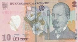 10 LEI X 2, CONSECUTIVE SERIES, 2008, PLASTIC BANKNOTE, ROMANIA. - Rumänien