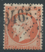 Lot N°33409   N°23, Oblit GC 3465 SOLIGNY-LA-TRAPPE(59), Ind 23 Ou STRASBOURG (67) - 1862 Napoléon III