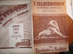 TERRITOIRE BELFORT GIROMAGNY/ D.M.C/ RUBANS /JAPY /ILLUSTRATION ECONOMIQUE FINANCIERE - Livres, BD, Revues