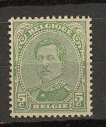 Belgie -  Belgique Ocb Nr :  137B ** MNH Type 3   (zie  Scan)  137 B Type 3 - 1915-1920 Albert I