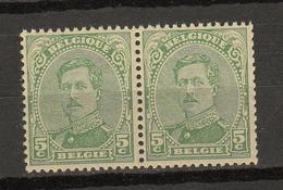 Belgie -  Belgique Ocb Nr :  137B ** MNH Type 3   (zie  Scan)  137 B Type 3 - 1915-1920 Alberto I