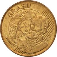 Brésil, 25 Centavos, 2013, TTB+, Bronze Plated Steel, KM:650 - Brésil