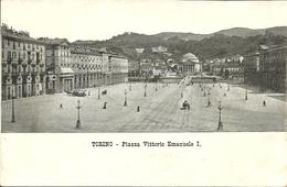 Torino (Piemonte) Piazza Vittorio Emanuele I - Piazze