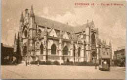 33 BORDEAUX - Vue Lattéral De L'église Saint Michel. - Bordeaux