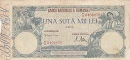 100.000 LEI, 1946, PAPER BANKNOTE,ROMANIA. - Roumanie