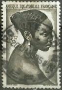 AFRICA ECUATORIAL FRANCESA 1947 Local Motives. USADO - USED. - Usados