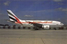 Airbus A-310 Emirates Airlines - 1946-....: Moderne