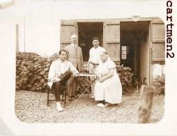 ITXASSOU UNE FAMILLE 64 PYRENEES 1926 PHOTOGRAPHIE ANCIENNE 11 X 7 CM - Photographs