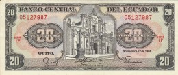 20 QUITO, VEINTE SUCRES, 1988, SERIE LP, ECUADOR. - Ecuador