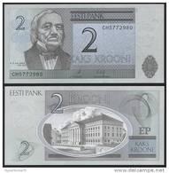 Estonia DEALER LOT ( 5 Pcs ) P 85 B - 2 Krooni 2007 - UNC - Estonia