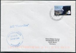 2006 Norway Svalbard Spitsbergen Spitzbergen Hammerfest Polar Bear Nordkapp VESTERALEN Ship Cover - Briefe U. Dokumente