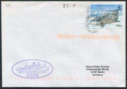 2007 B.A.T. Antarctica MV POLAR PIONEER AURORA Expeditions Ship Cover. Port Lockroy - Brieven En Documenten
