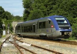 RU 1346 - Autorail X 73778 En Gare - EYMOUTIERS  - Haute Vienne  87 - SNCF - Eymoutiers