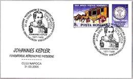 Astronomo Y Matematico JOHANNES KEPLER. C.Napoca 2005 - Astronomie
