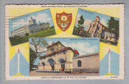 AK Philippinen Manila 1937-02-02 XXXIII Intern. Eucharistic Congress Manila - Philippines