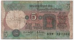 Billet De Banque INDE - 5 Rupees - India