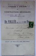 """Livret Publicitaire """"Constructions Mécaniques Ad. VALLÉE Et Fils"""" Saint Brieuc (22) - 1925 - Publicités"""