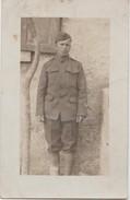CPA PHOTO GUERRE 1917 1918 Soldat Militaire Américain U.S. Army En Unifororme - Guerre 1914-18