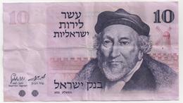 Billet De Banque ISRAEL - 10 Lirot De 1973 - Israel