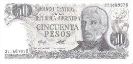 Argentina - Pick 301b - 50 Pesos 1976 - 1978 - Unc - Argentina