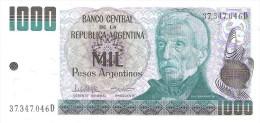 Argentina - Pick 317 - 1000 Pesos Argentinos 1983-1985 - Unc - Argentine