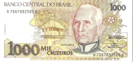 Brazil - Pick 231c - 1000 Cruzeiros 1991 - Unc - Brésil