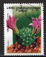 CAMBOGIA - 2001 - PIANTA CACTUS - USATO - Kambodscha