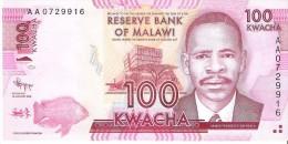 Malawi - Pick 59 - 100 Kwacha 2012 - Unc - Malawi