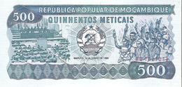 Mozambique - Pick 131b - 500 Meticais 1986 - Unc - Mozambico