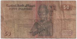 Billet De Banque EGYPTE - 50 Piastre - Egipto